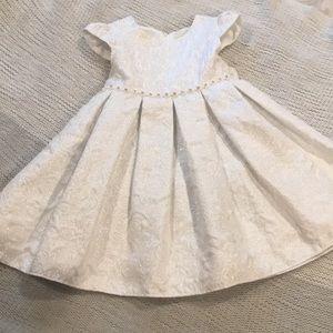 Beautiful white 3T formal dress